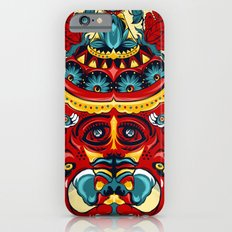 Elephant Flowers iPhone 6s Slim Case
