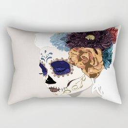 Versailles Skull Rectangular Pillow