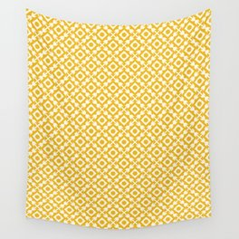 The arrows – yellow Wall Tapestry
