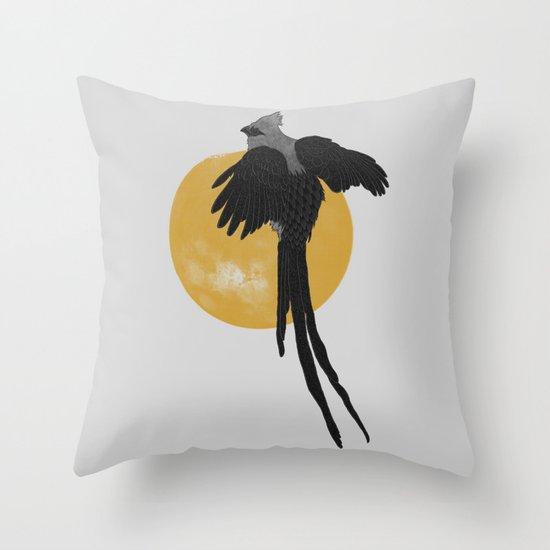 Mousebird Throw Pillow
