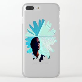 Under Her Sky Clear iPhone Case