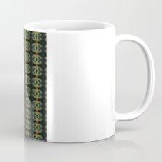Peacock Bead Abstract Mug