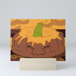 Desserts - Pumpkin Cake - HALLOWEEN- Mini Art Print