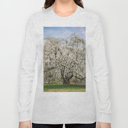 Blooming Cherry Tree Long Sleeve T-shirt