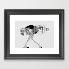 Cowardice Framed Art Print