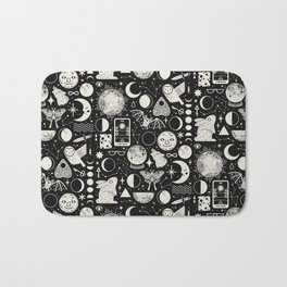 Lunar Pattern: Eclipse Bath Mat