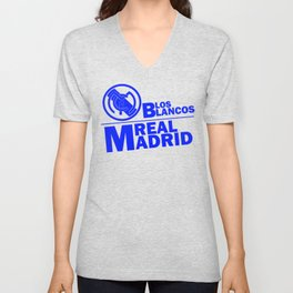 Slogan: R. Madrid Unisex V-Neck