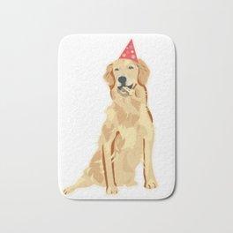 Birthday Puppy! Bath Mat