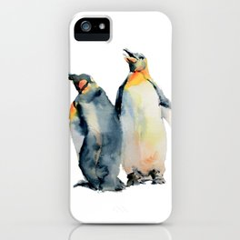 King Penguins iPhone Case