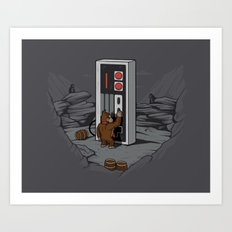 Dawn of gaming Art Print