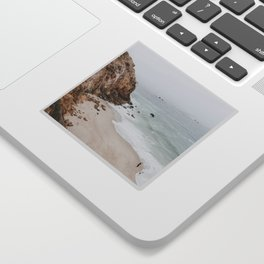 malibu coast / california Sticker