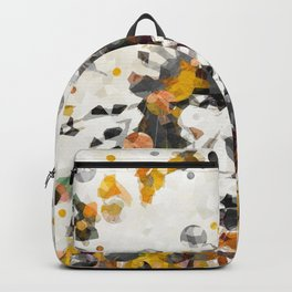 Modern Yellow Native American Indian Chief Backpack