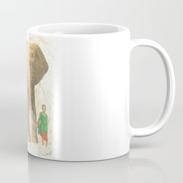 The elephant and the child queen Coffee Mug