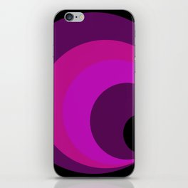 Black point iPhone Skin