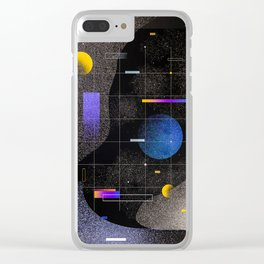 Cool Universe Clear iPhone Case