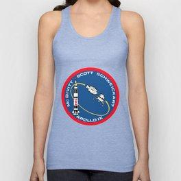 Apollo 9 Logo Unisex Tank Top