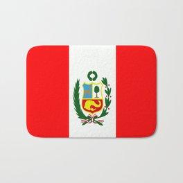 Flag of Peru Bath Mat