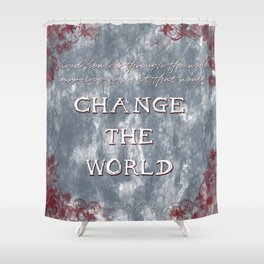 The Inheritance Cycle - Eragon quote Shower Curtain