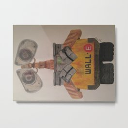 Wall-E Metal Print