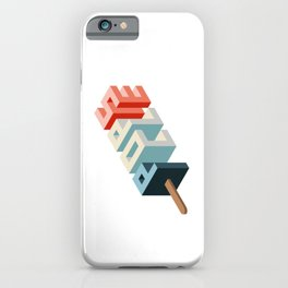 Isometric Popsicle Sweet Summer iPhone Case