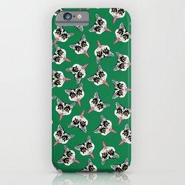 Cat got your tongue? iPhone Case