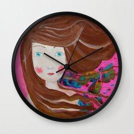 Inky Windy Wall Clock