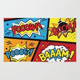 Super Heros, Comic, Cartoon Rug