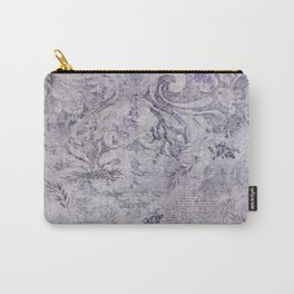 Vintage Mauve French Stationery Carry-All Pouch