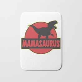 Mamasaurus mother dinosaur Trex Bath Mat