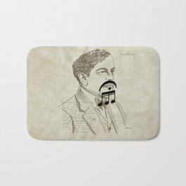 Claude Debussy Bath Mat