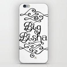 Big Bisha iPhone Skin
