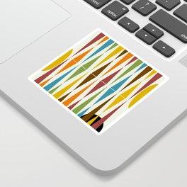 Mid-Century Modern Art 1.4 Sticker