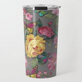 butterflies & roses Travel Mug