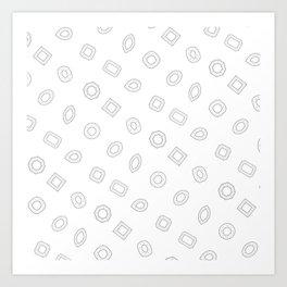 Moissy Shapes Art Print