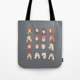 hayley in music videos Tote Bag