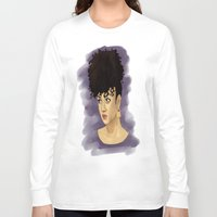 afro Long Sleeve T-shirts featuring Afro by Adelys