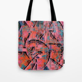 Word On The Street Tote Bag