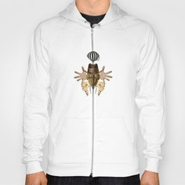 Collage monster Hoody