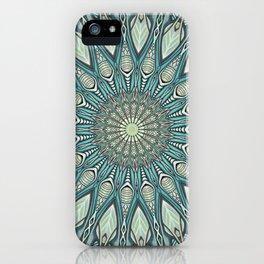 Eye of the Needle Mandala Art iPhone Case