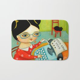 The writer of stories Bath Mat