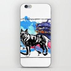 German Shepherd pop art iPhone & iPod Skin