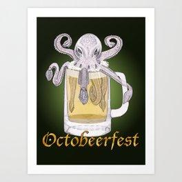 Octobeerfest Art Print