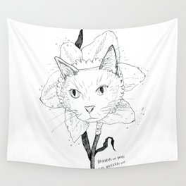 Catffodil Wall Tapestry