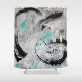 The Sea Within  Shower Curtain