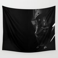 vader Wall Tapestries featuring Vader by Philipe Kling