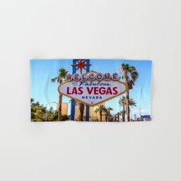 Welcome To Las Vegas Hand & Bath Towel