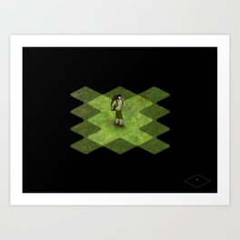 Discovering the World Art Print