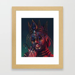 Because Your Love Kept Me Alive and it Made Me Insane Framed Art Print