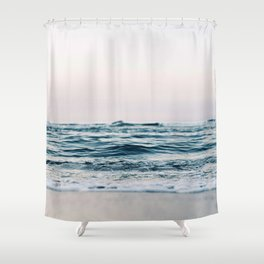Sea Water Flow Shower Curtain