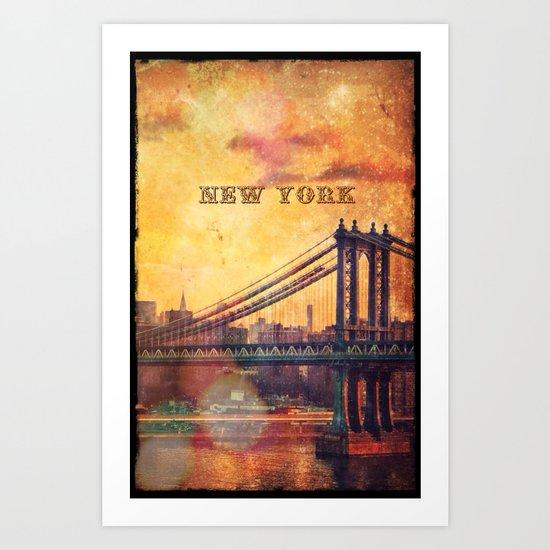 New York - for Iphone Art Print